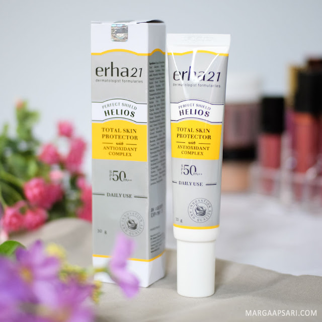 Review Erha 21 Helios Daily Use SPF50 PA+++