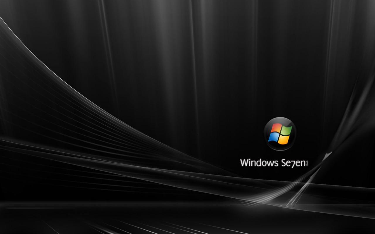 Download Wallpapers Windows 7 4k Se7en Blue Background: Info Wallpapers: Wallpaper Black Windows 7