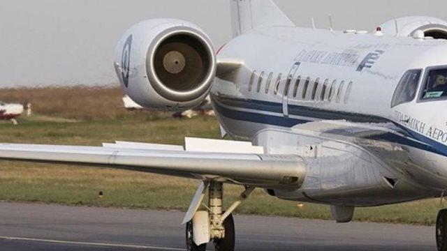 Περίεργη πτήση του πρωθυπουργικού αεροσκάφους στο Ηράκλειο