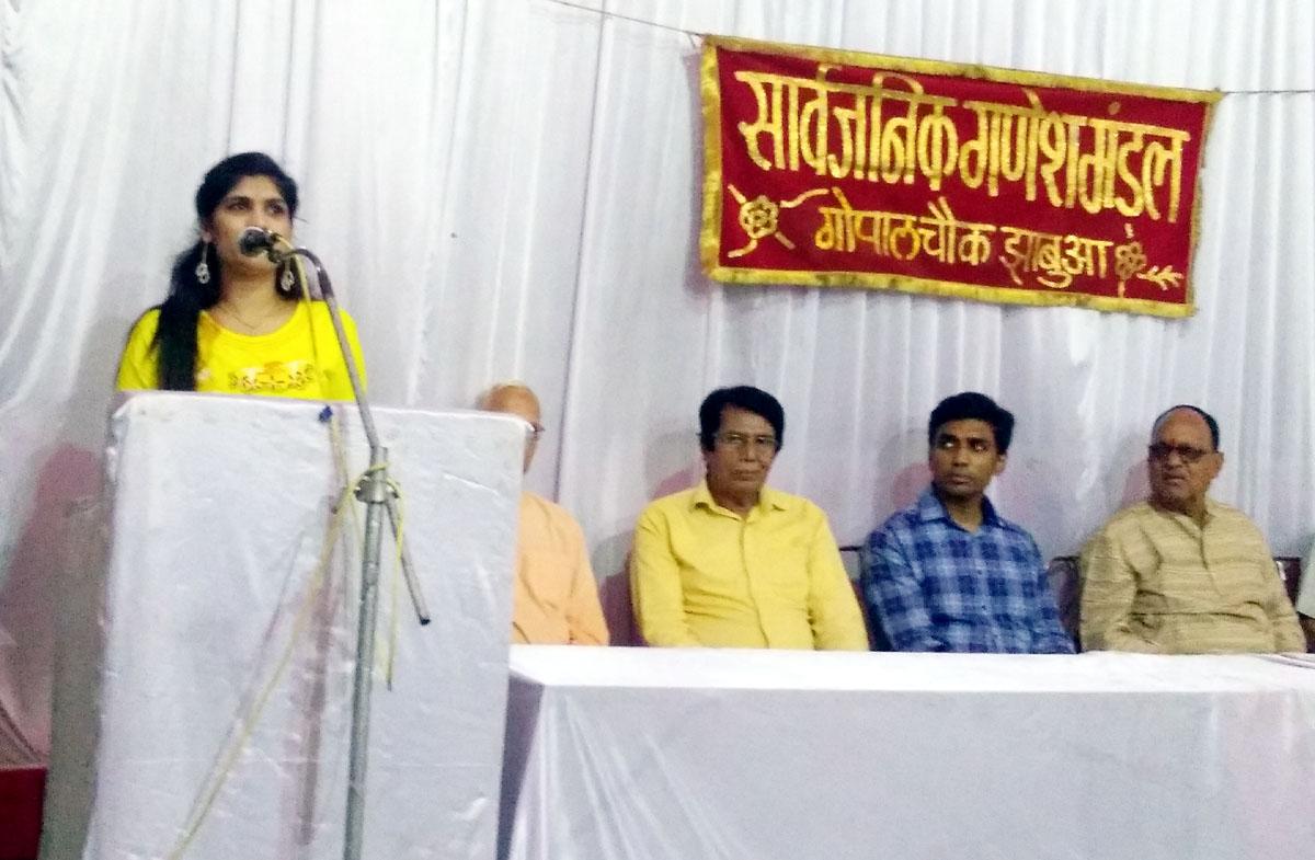 Jhabua News-रंगा रंग सांस्कृतिक एवं साहित्यिक कार्यक्रमों से आयोजित होगा 85 वा गणेशोत्सव