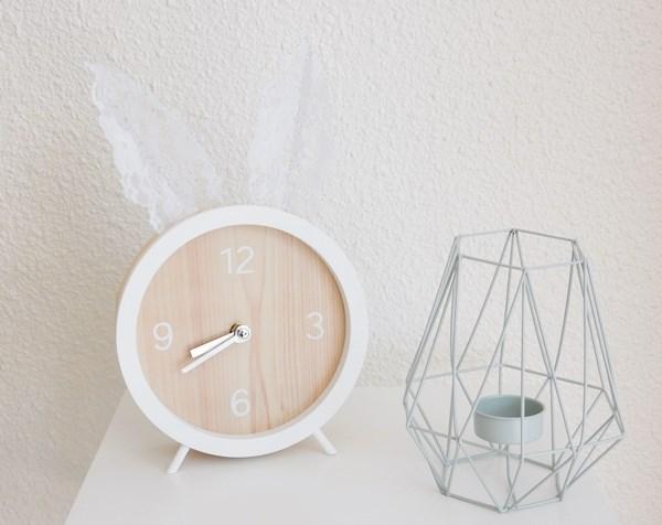 DIY : horloge lapin - bunny clock