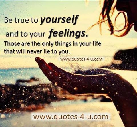 Its All About Quotes Be True To Yourself