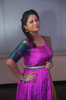 Shilpa Chakravarthy in Purple tight Ethnic Dress ~  Exclusive Celebrities Galleries 082.JPG