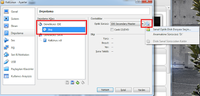 VirtualBox'da Kali Linux Kurulumu ve Ayarları