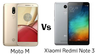 Moto M vs Xiaomi Redmi Note 3