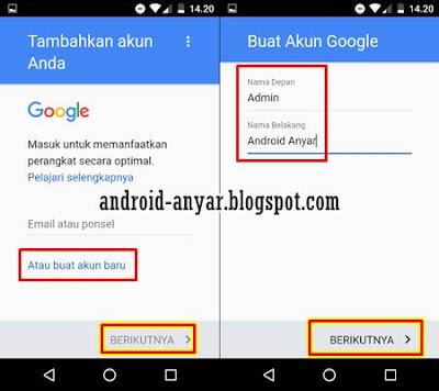 Cara Buat Email Baru Gmail Lewat HP Android