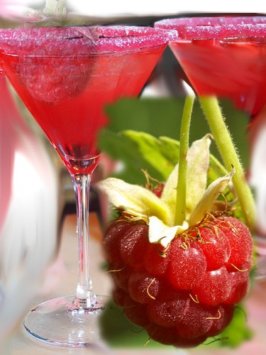 Cocktail de framboise