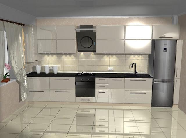 Встроенные кухни на заказ фото