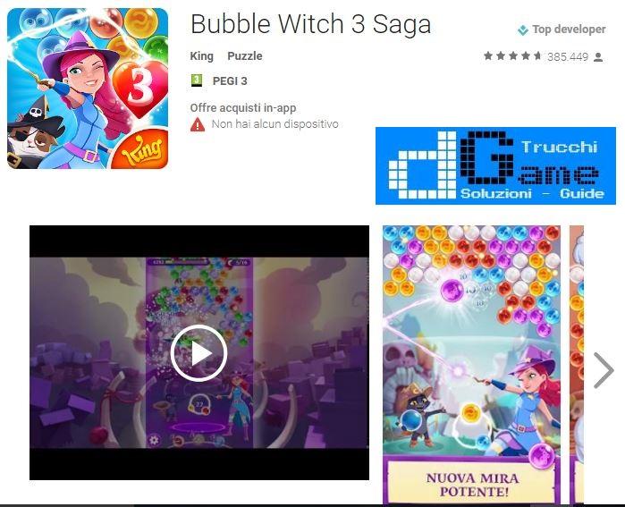 Soluzioni Bubble Witch Saga 3 livello 361 362 363 364 365 366 367 368 369 370 | Trucchi e Walkthrough level