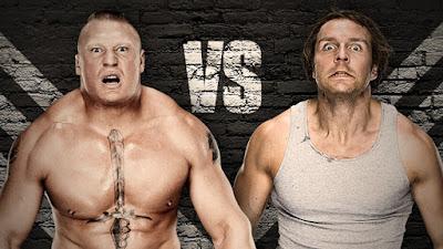 WrestleMania 32; Brock Lesnar Vs Dean Ambrose No Hold Barred Match