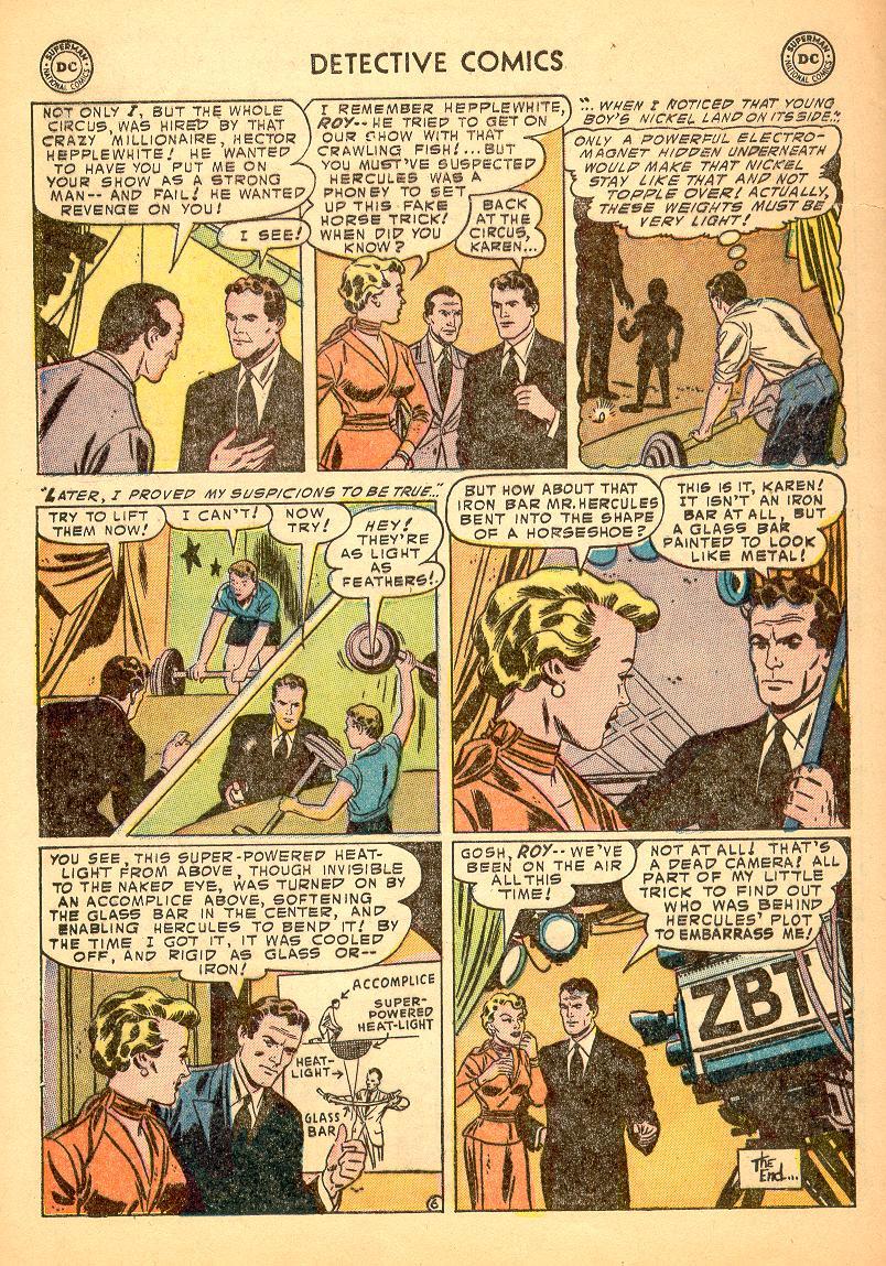 Read online Detective Comics (1937) comic -  Issue #214 - 32