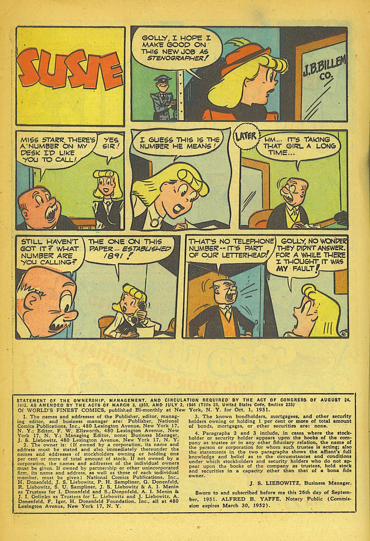 Read online World's Finest Comics comic -  Issue #57 - 40