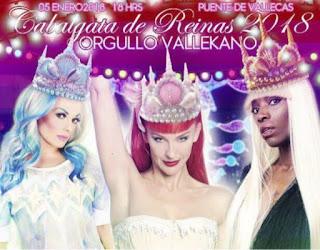 reyes magos, vallecas, drag queen, mujer, podemos, madrid, orgullo
