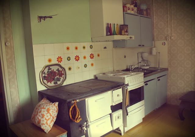 puuhella, keittiö, 50-luku