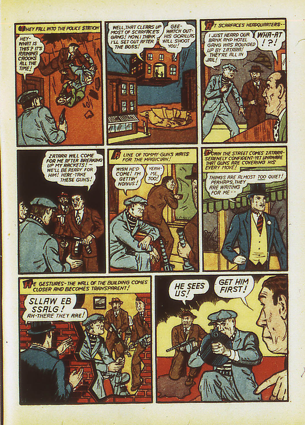 Read online Action Comics (1938) comic -  Issue #34 - 64