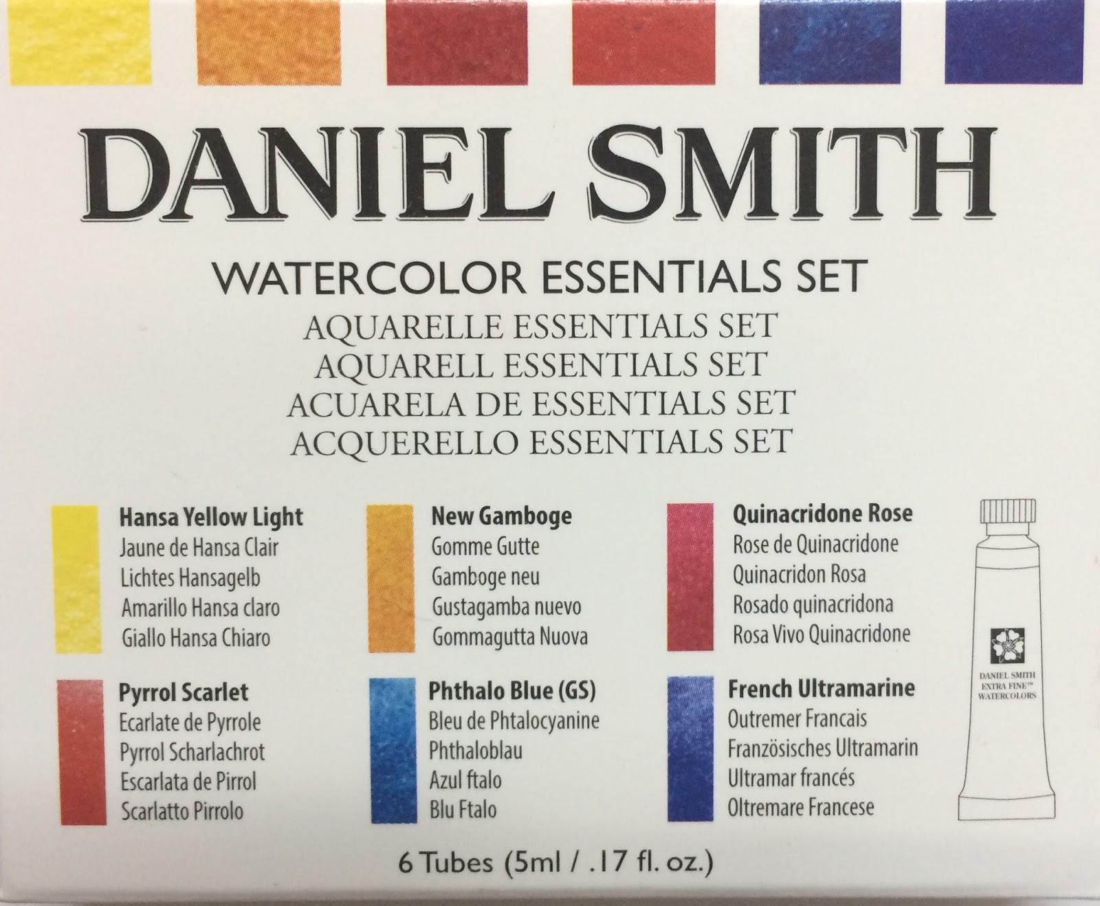 daniel smith aquarell