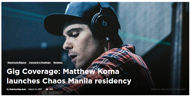 Gig Coverage: Matthew Koma launches Chaos Manila residency