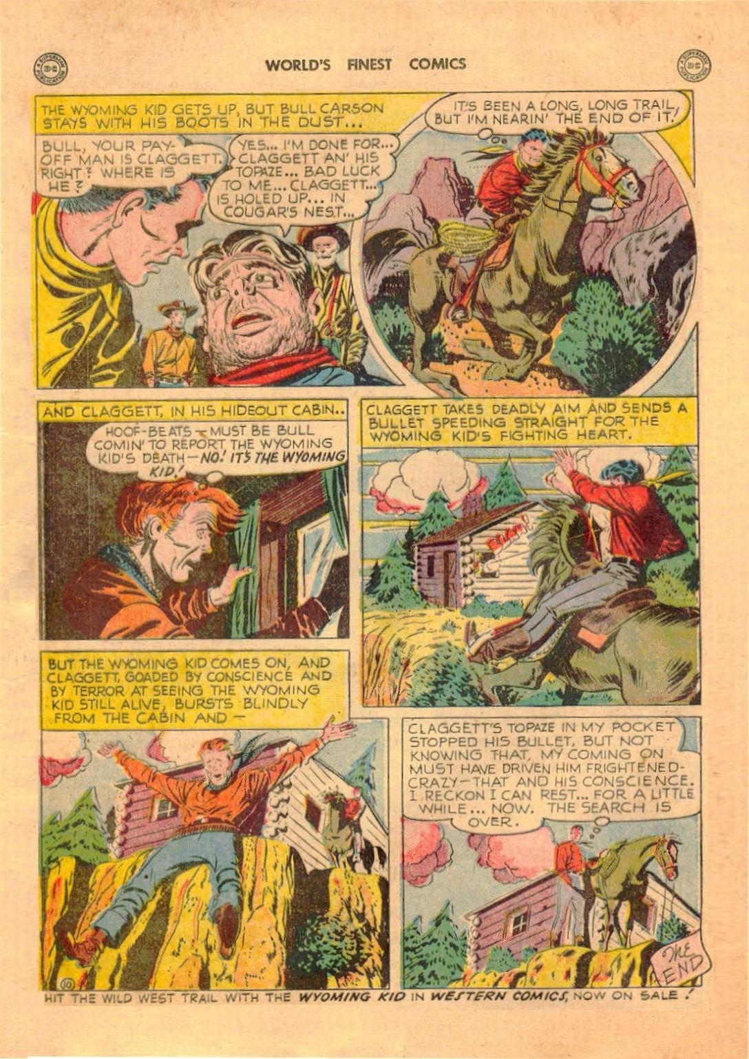 Read online World's Finest Comics comic -  Issue #42 - 46