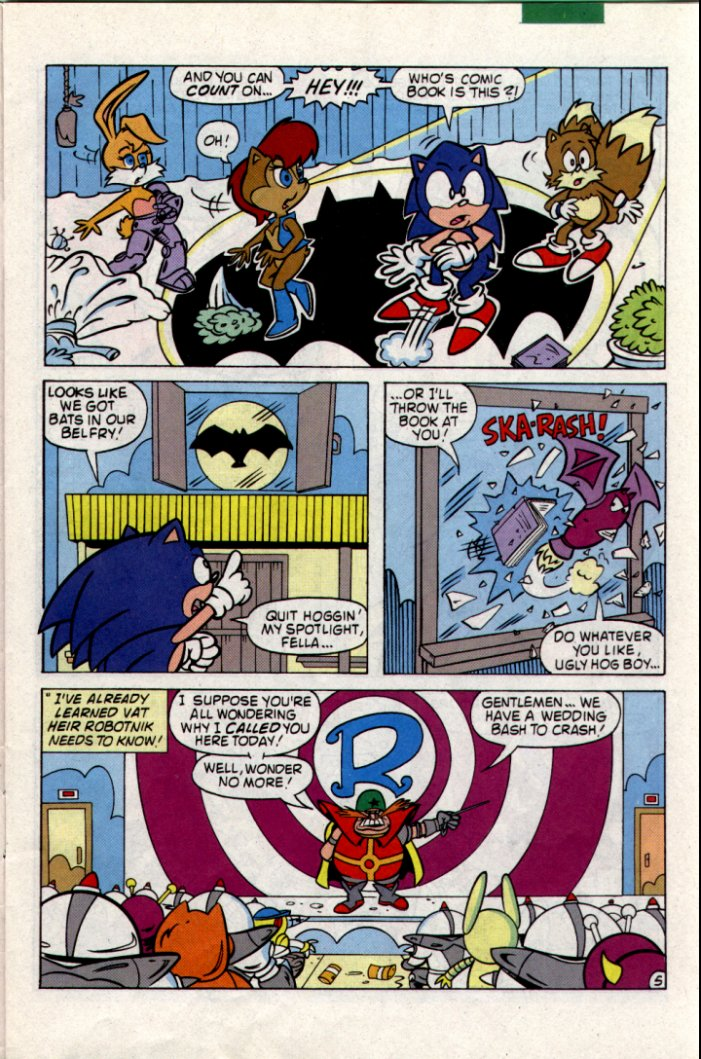Read online Sonic The Hedgehog comic -  Issue #18 - 6