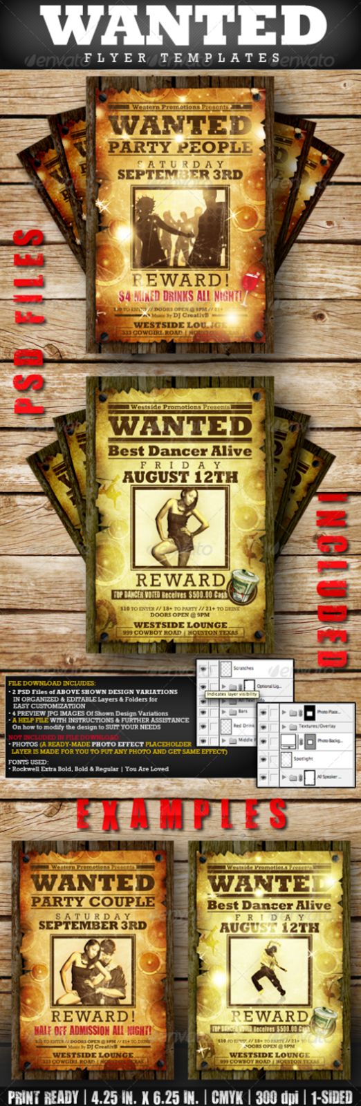 20 Best Wanted Poster Templates Psd Download Designsmag