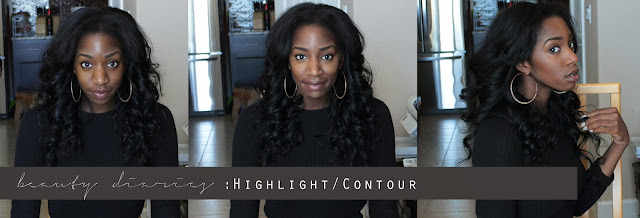 highlight contour dark skin