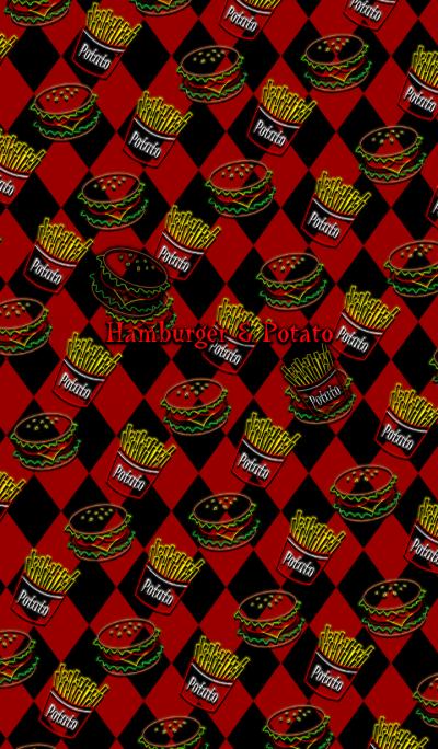 Hamburger & Potato -Cool style-