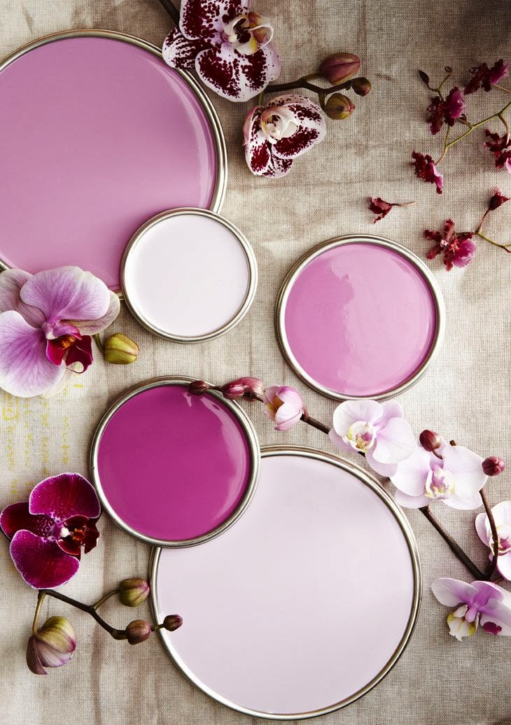 Lisa Mende Design My Top 5 Radiant Orchid Paint Colors