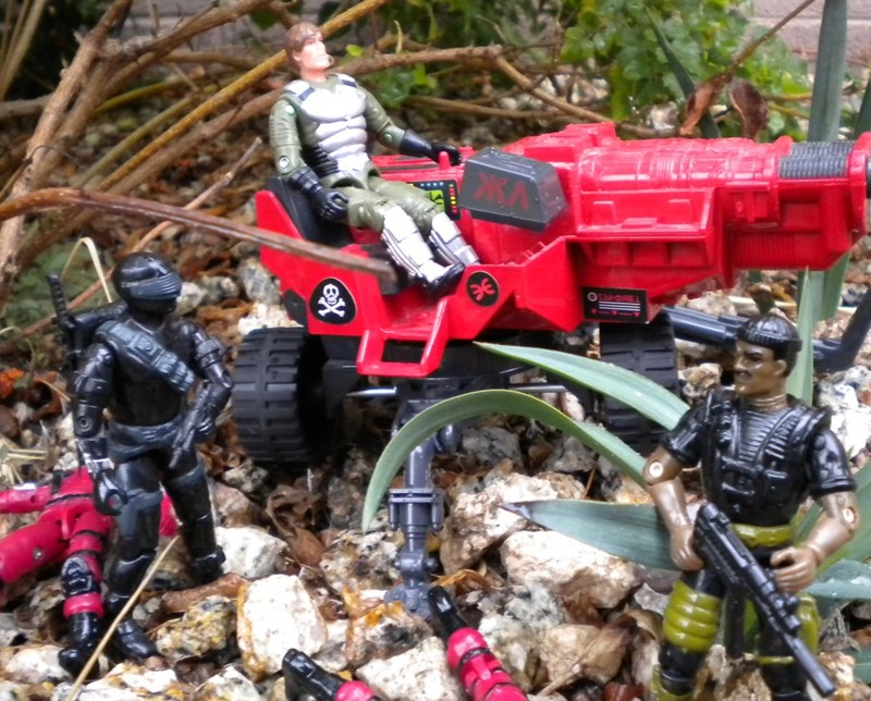 1994 Stalker, Battle Corps, 1985 Snake Eyes, V2, 2007 Convention Exclusive Grand Slam, Bootleg Crimson Cobra Trooper, Action Force Lazer Exterminator, HAL, Red Shadows, Palitoy, European Exclusive