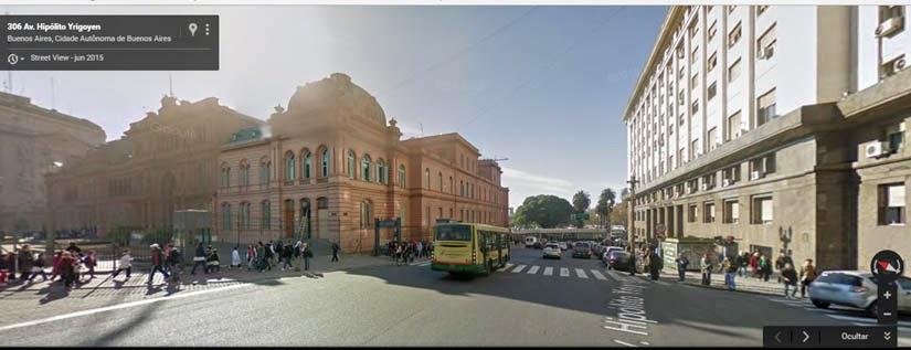 Mapa Buenos Aires - Argentina - Museu Casa Rosada