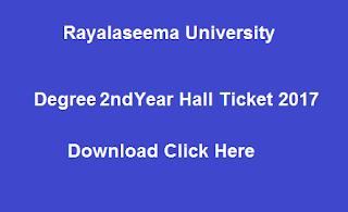 ru ug 2nd year hall tickets 2017 download