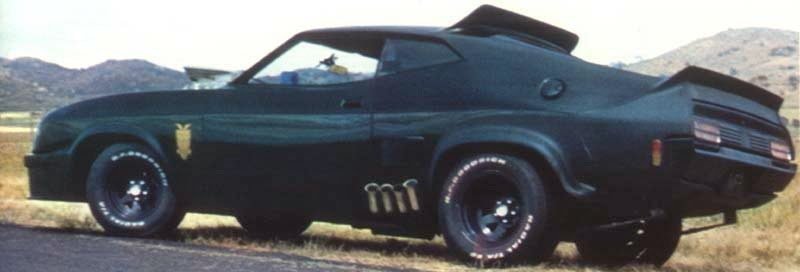 Mad Max Interceptor car