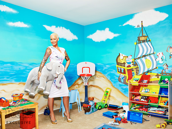 inside Amber Rose's son Sebastian bedroom