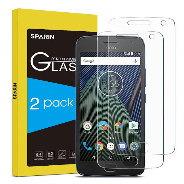 SPARIN 2 Pack Glass Screen Protector