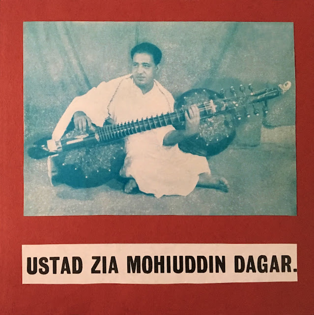 #India #Hindustani #Dhrupad #Zia Mohiuddin Dagar #rudra veena #rudra vina #meditative #deep listening #meditation #traditional music #Indian music #world music #vinyl #45 RPM
