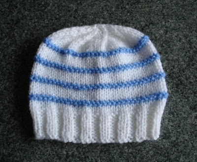 Free Knitting Patterns For Toddler Hats On Straight Needles : mariannas lazy daisy days: Knitted Baby Boy Hats