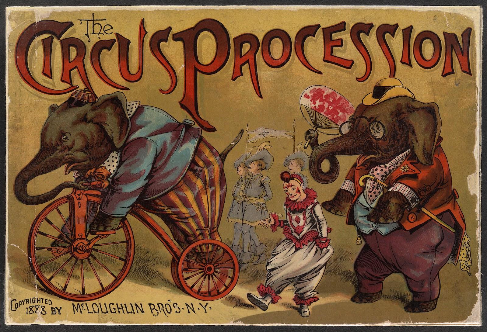 Vintage Circus Art 19