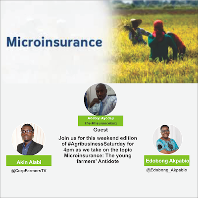 #AgribusinessSaturday by 4pm with the Insurance Guy