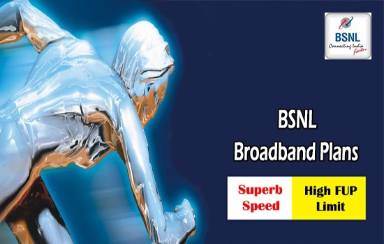 BSNL to revise ADSL broadband and FTTH broadband plans from 1st September 2018 on wards in all the telecom circles