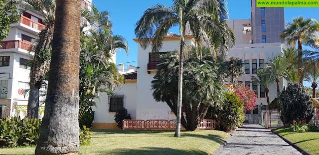 El Ayuntamiento de Santa Cruz de La Palma cierra provisionalmente el parque infantil 'El césped'