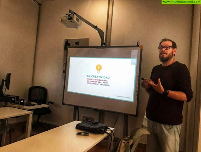 Cultura Visual prosigue con su programa de formación en la isla de La Palma