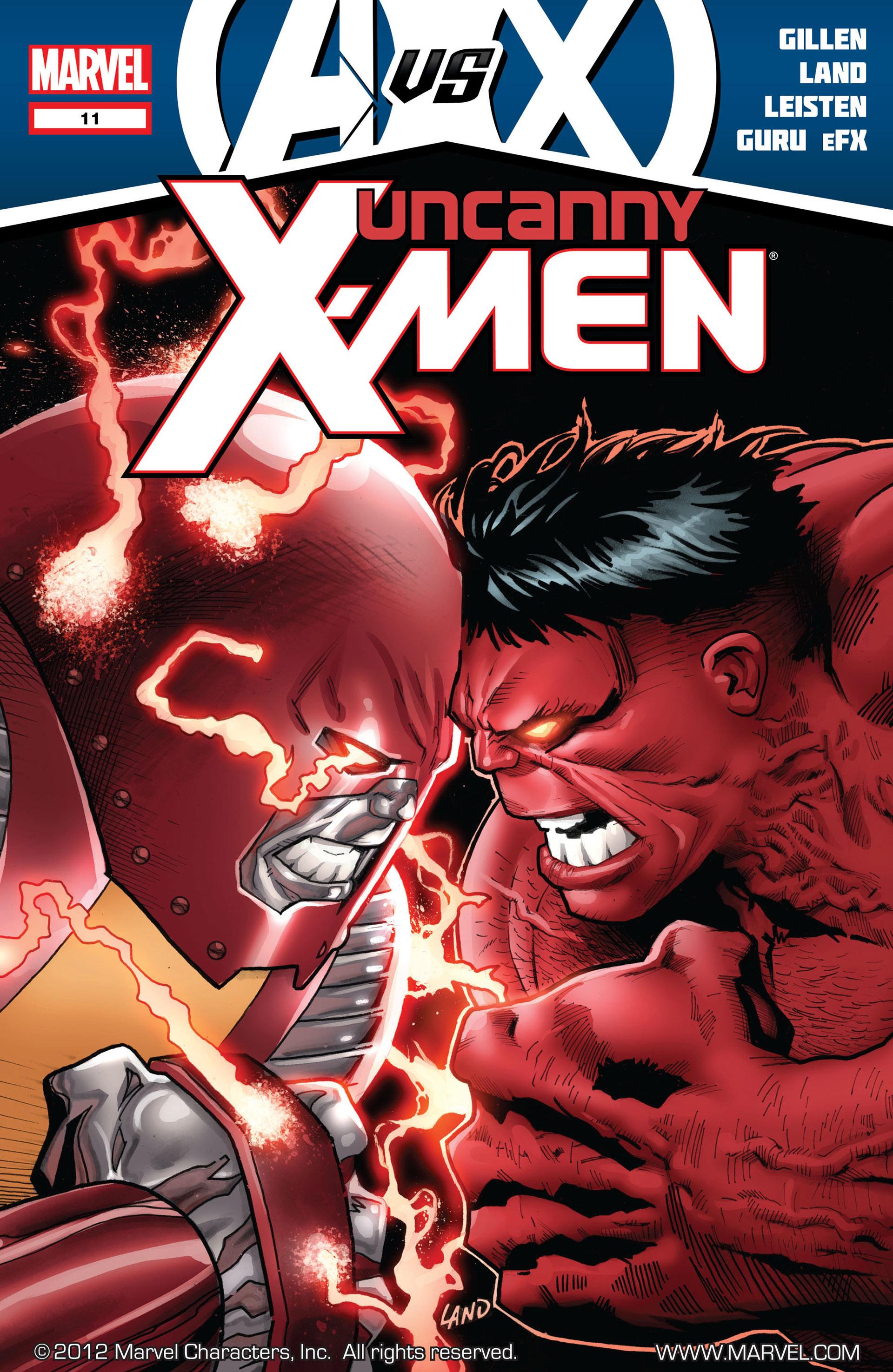 Read online Uncanny X-Men (2012) comic -  Issue #11 - 1