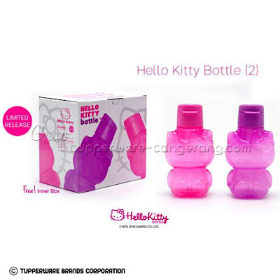 Botol minum Hello Kitty Tupperware