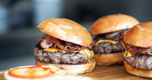 We're ALL Vegetarians...Until the Burgers Arrive