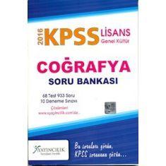 X Yayıncılık KPSS Coğrafya Soru Bankası (2016)