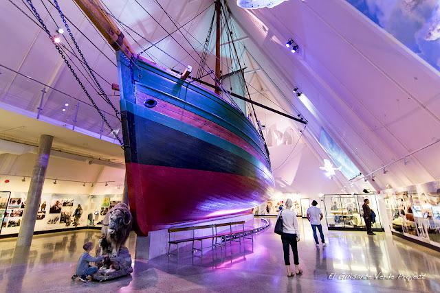 Gjøa - Museo Fram, Oslo por El Guisante Verde Project
