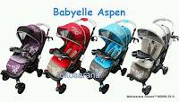 Kereta Bayi BabyElle 603 Aspen