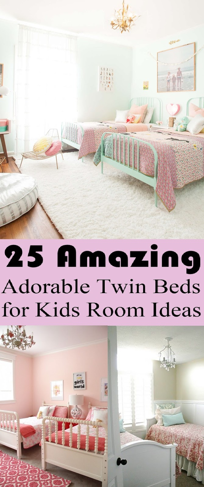 Amazing Adorable Twin Beds for Kids Room Ideas