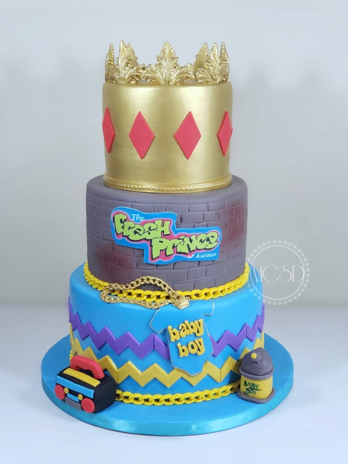MyCakeSweetDreams: Baby Shower Cake Fresh Prince
