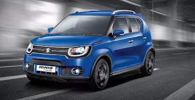 New 2016 Maruti Suzuki Ignis front view hd