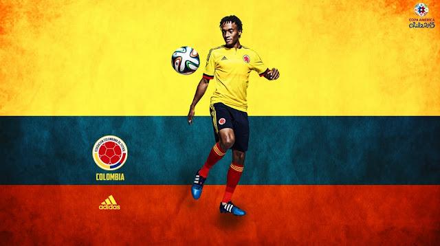 Juan Cuadrado Copa America 2015 Wallpaper